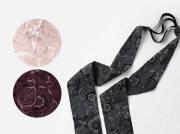 <三連仮紐>帯結びが簡単&楽ちんに!帯揚げやヘアターバンとしても使える便利小物-葡萄grapegrape(2色)