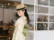 【浴衣・夏着物】セオαの夏キモノ浴衣ーアマリリス