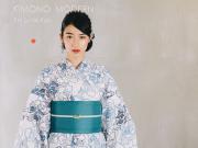 【2019年新作】本格派!注染ゆかた-芍薬(横乱絽・浜松注染・綿100%)
