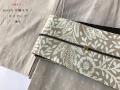 【木綿キモノ】シンプルにさりげない、modeな木綿キモノ-ロリポップ-象牙(3色・送料無料)