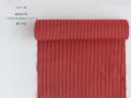 【米沢木綿】秋色KIPPE しなやかなCOOLストライプー紅red(反物のみor お仕立て込み / 送料無料)