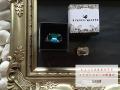 【スワロフスキーの帯留め】ちょっと大きめキラリ-SNOW(3色・ギフトBOX入り・送料150円)