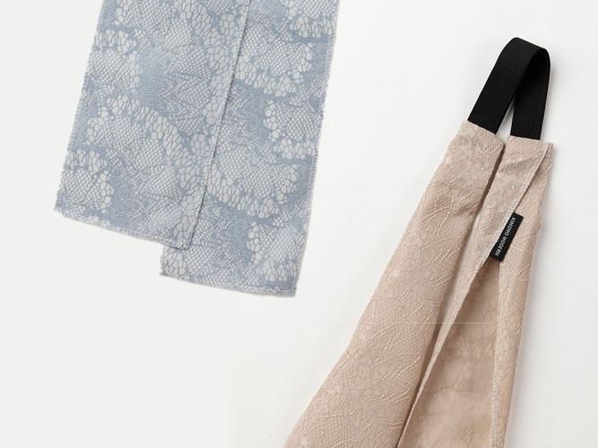 【三連仮紐】ヘアターバンや帯リボンとしても!3倍楽しめる、DRESSY-NUDY(2色)
