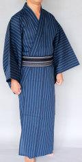 【送料無料】【即日出荷】『こむさでもーど』浴衣・博多織男帯2点セット