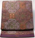 蜀江模様の袋帯 織悦