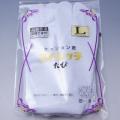 新品ストレッチ白足袋★東レナイロン使用☆5枚コハゼ☆L