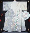 【特選】京都府指定無形文化財「友禅」保持者 羽田登作 京友禅訪問着