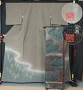 【稀少品超特選】【国際的伝統工芸作家 十二代藤林徳扇 苑寿織匠】 未使用品 色留袖(訪問着格)と袋帯のセット