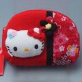 新品 ハローキティ ポーチ 4(赤)★キティちゃんの可愛いポーチ・小物入れ・チャック付きケース