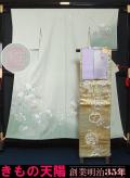 着物セット 未使用品 訪問着、袋帯、帯揚げ、帯締め、重ね衿の5点セット