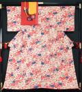 着物4点セット 紅型小紋・八寸名古屋帯