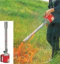 芝焼き・土壌殺菌、塗料の剥離作業、大掃除の焼却作業に「キンボシ グラスバーナー GB-7000」
