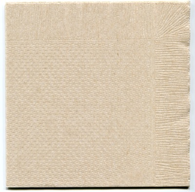 ナチュラルカラー未晒4折紙ナプキン
