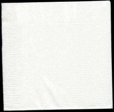 4折紙ナプキン白無地ホワイト