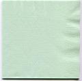 4折カラー紙ナプキングリーン