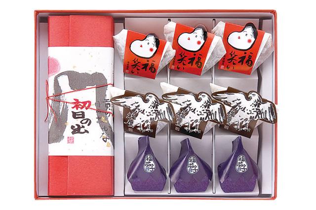 【新春特選3240】新春のお慶びの場にふさわしい祝い菓子の詰め合わせ