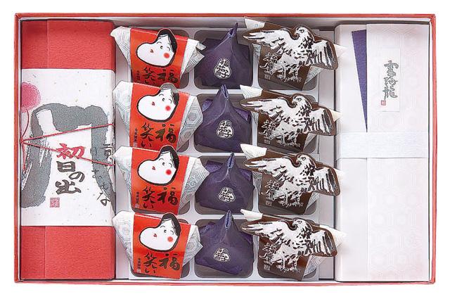 【新春特選5400】新春のお慶びの場にふさわしい祝い菓子の詰め合わせ