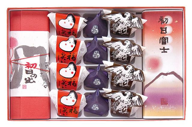 【新春特選6480】新春のお慶びの場にふさわしい祝い菓子の詰め合わせ