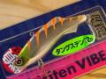 マドネスジャパン キングフィッシャーオリジナルカラー shiriten VIBE53 タングステンモデル銀粉カラー