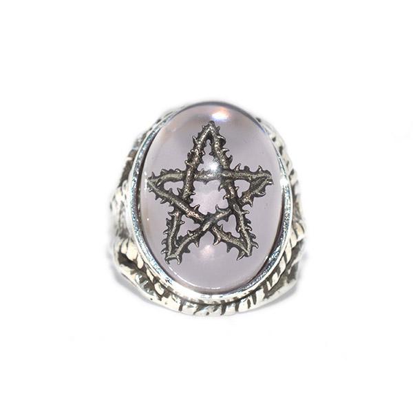 ALEX STREETER(アレックスストリーター)エンジェルハートリング ラベンダーソーンスター  Lavender Thorn Star