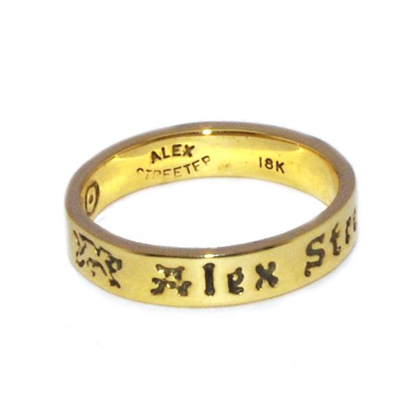 ALEX STREETER(アレックスストリーター)  1971 RING 18KYG ALR803G