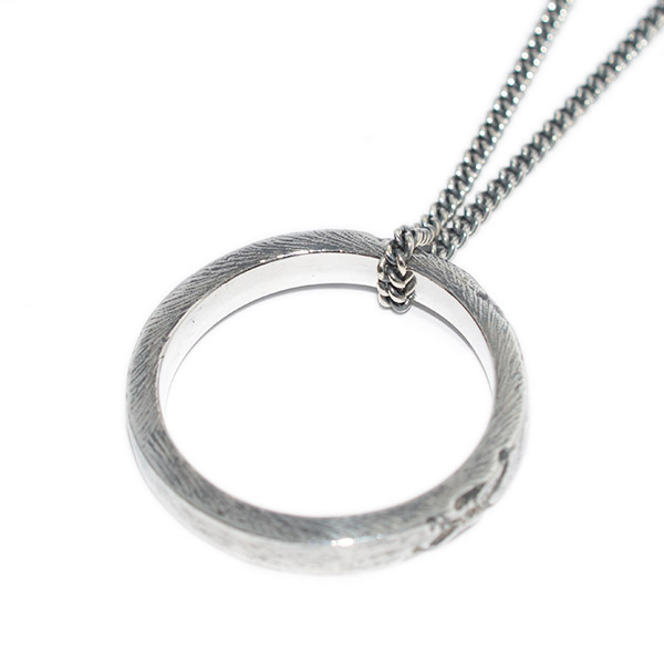 BUCK PALMER(バックパーマー) CIRCLE NECKLACE サークルネックレス  BPN-006-32-OXS