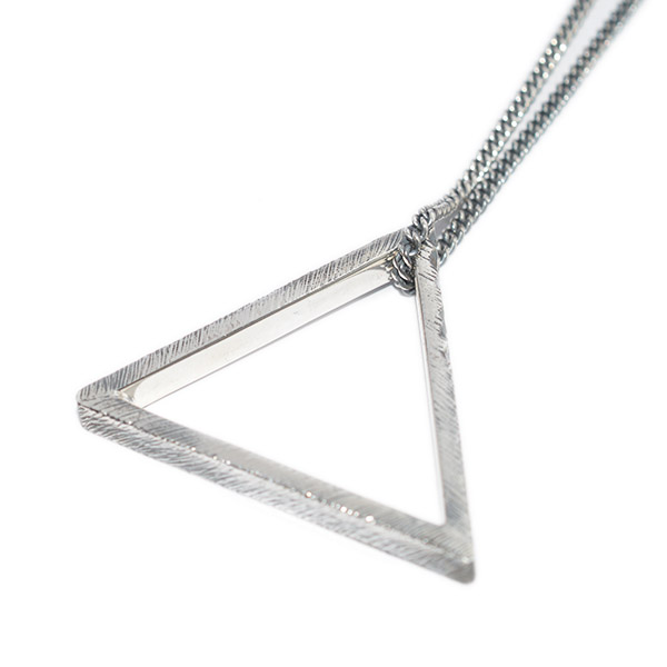 BUCK PALMER(バックパーマー) TRIANGLE NECKLACE トライアングルネックレス  BPN-010-32-OXS