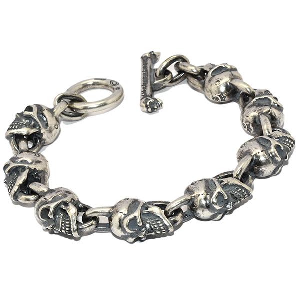 Gaboratory(ガボラトリー)All Skull Link Bracelet スカルリンクブレスレット