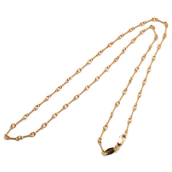 CHROME HEARTS(クロムハーツ) 22Kゴールド ツイストチェーン ネックレス Twist Chain 22K Gold