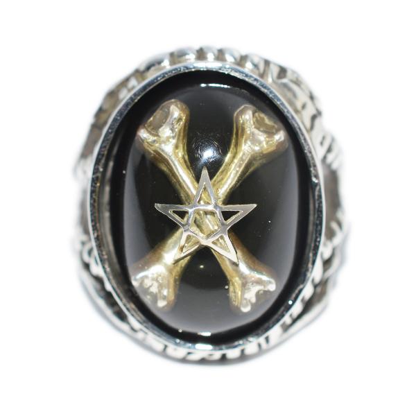 【限定】ALEX STREETER(アレックスストリーター)エンジェルハートリング オディティーズ クロスボーンスター Oddities Crossbone Star Angel Heart