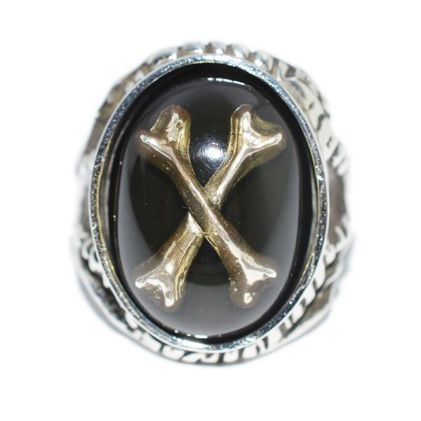 【限定】ALEX STREETER(アレックスストリーター)エンジェルハートリング オディティーズ クロスボーン Oddities Crossbone  Angel Heart