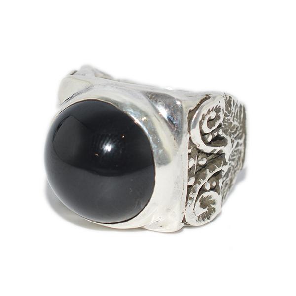 ALEX STREETER(アレックスストリーター) Onyx  Ionic Column Ring