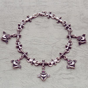 Barbara(バーバラ) ブレスレット Gathering Petit Barbara Iron Cross Bracelet PB-B-302