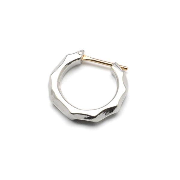 basis(ベイシス)bapi002 texture hoop  pierce テクスチャーフープピアス 【片耳】