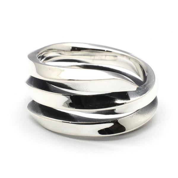 basis(ベイシス) triple spiral ring トリプルスパイラルリング bar017