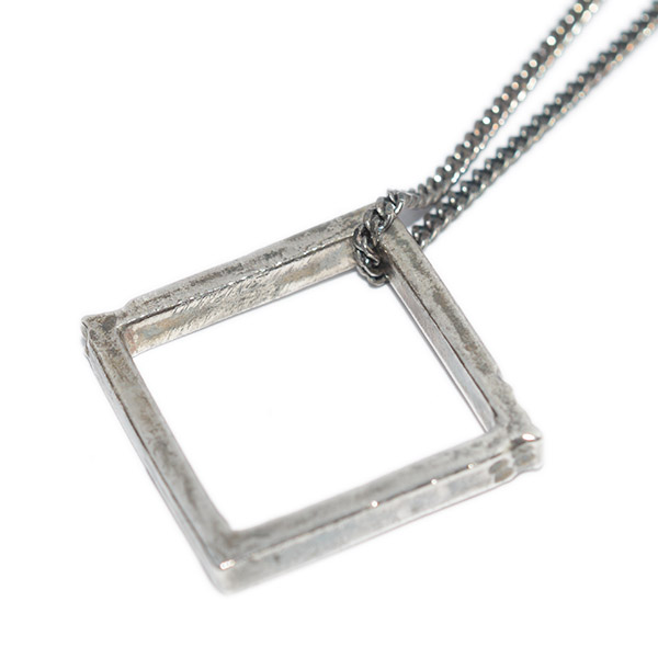 BUCK PALMER(バックパーマー) SQUARE NECKLACE スクエアネックレス  BPN-007-32-OXS