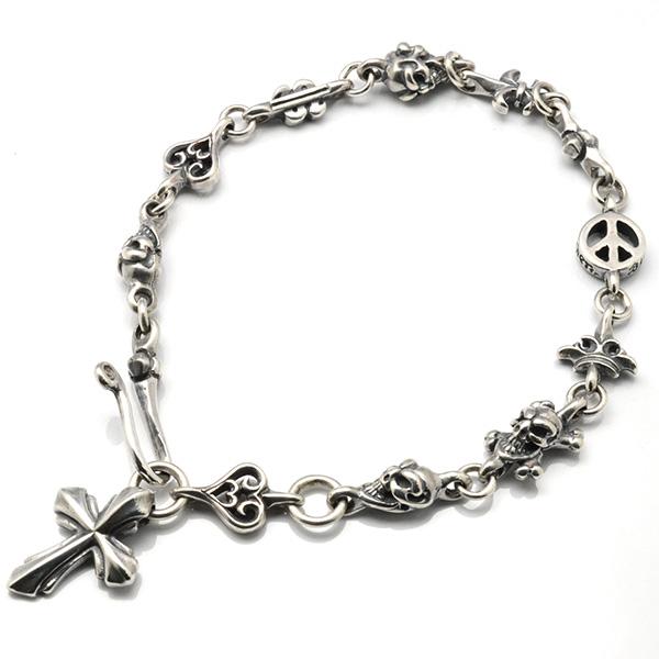 BWL(ビルウォールレザー)  Small Link Bracelet (Multi) スモールリンクマルチブレスレット B558
