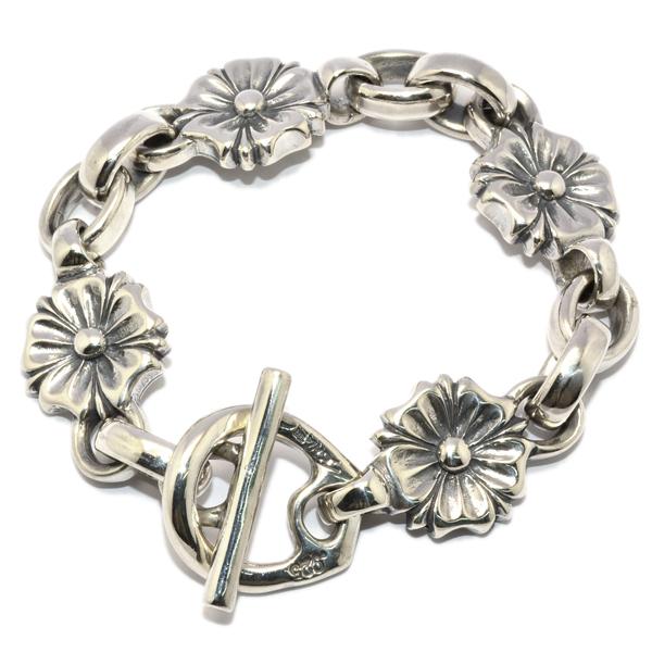 BWL(ビルウォールレザー) Custom Bracelet Large Cherry Blossom Bracelet ラージチェリーブロッサムブレスレット