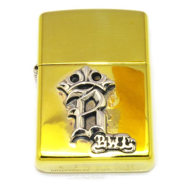 BWL(ビルウォールレザー)ZL115 B Crown ZIPPO Bクラウンジッポライター