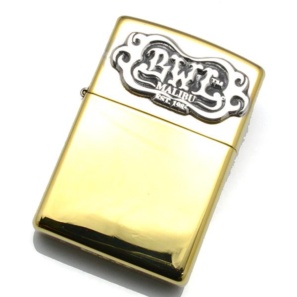BWL(ビルウォールレザー) ZL107 BWL Logo-Brass Zippo