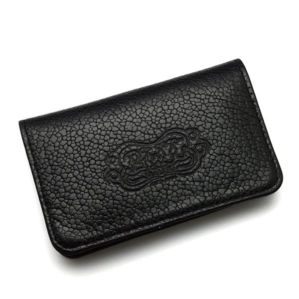 BWL(ビルウォールレザー) W908 BWL Card Wallet Flat Black