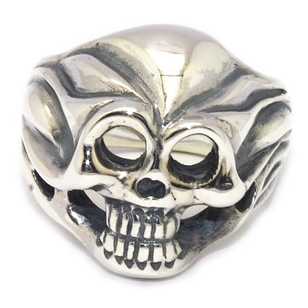 BWL(ビルウォールレザー)R226 Custom Ultimate Skull Ring アルティメットスカルリング