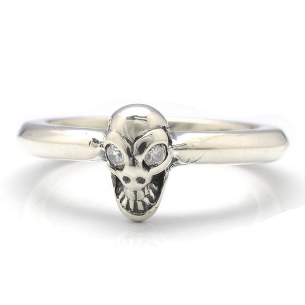 BWL(ビルウォールレザー)X-Small Skull Ring Dia R341