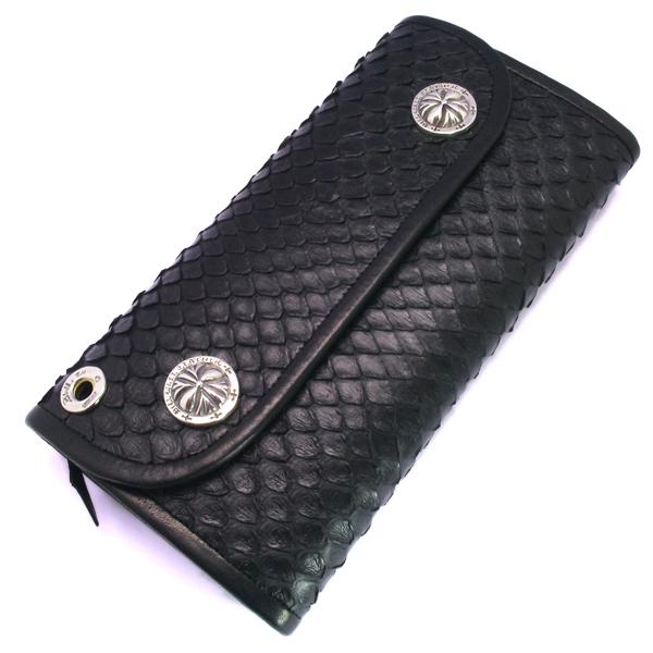 BWL(ビルウォールレザー)  Hybrid Wallet /Snake Anaconda Leather W971