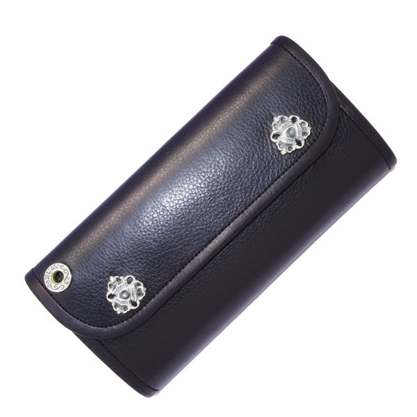 BWL(ビルウォールレザー)  Hybrid Wallet /Plain Leather Triple crown snap W969