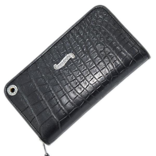 【ビルウォールレザー 財布】Bill Wall Leather W949 Custom Zipper Alligator w/Gromet 現品限り 1