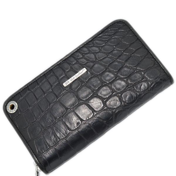 BWL ビルウォールレザー 財布 W949 Custom Zipper Alligator w/Gromet 現品限り 2