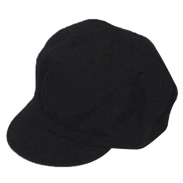 CABOURG(カブール) キャップ /ブラック CAB009