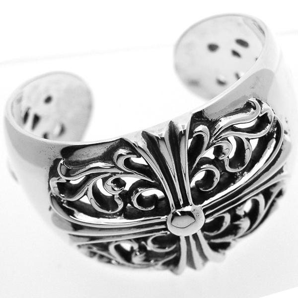 CHROME HEARTS(クロムハーツ) ワイドカフバングル(ブレスレット) Wide Cuff Bangle