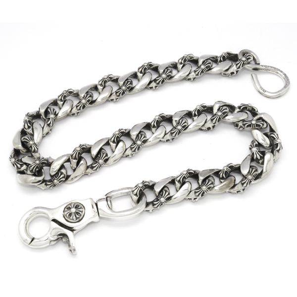 CHROME HEARTS(クロムハーツ) 1 Clip Fancy Link Wallet Chain/33 Link ファンシーリンクウォレットチェーン